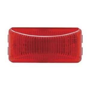 Red 6 LED 2.5 Truck Clearance Side Marker Light Kit / Black Bracket
