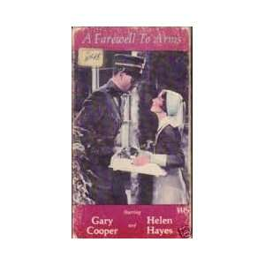 A Farewell to Arms VHS Ernest (Gary Cooper, Helen Hayes