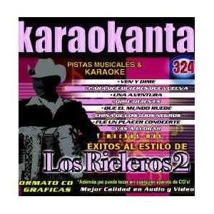 Karaokanta KAR 4324   Al Estilo de Rieleros   II Spanish