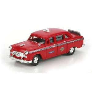 Athearn 26376 Checker A8 Taxi, Red Toys & Games