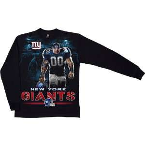 Liquid Blue New York Giants Tunnel Long Sleeve T Shirt XX