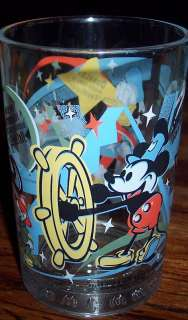 MCDONALDS 100 WALT DISNEY WORLD GLASS PLUTO MICKEY