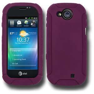 High Quality Amzer Silicone Skin Jelly Case Purple For