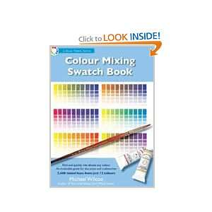 Swatch Book (Studio Edition) (Color Notes) Michael Wilcox Books