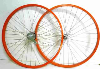 Beach Cruiser Bike 26 x 1.75 Coater Brake Front & Rear Wheels Rims