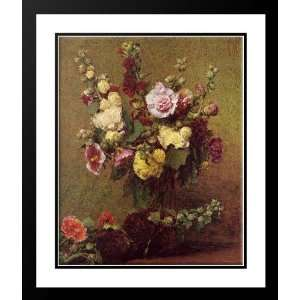 Fantin Latour, Ignace Henri Jean Theodore 28x34 Framed and Double