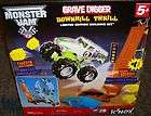 NEX MONSTER JAM GRAVE DIGGER DOWN HILL THRILL SET