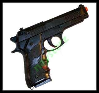 Airsoft AK757 Black M9 Spring Airsoft SWAT Pistol Gun