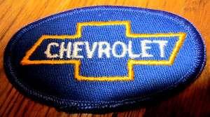 VINTAGE STOCK UNIFORM PATCH CHEVROLET CAR TRUCK