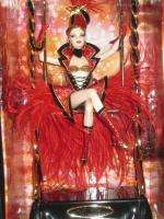 Bob Mackie Circus Barbie   Gold Label   NRFB   With Shipper |