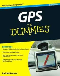 GPS For Dummies by Joel McNamara, Wiley, John & Sons