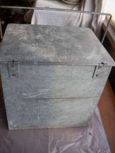 Galvanized Insulated Milk Dairy Porch Delivery Box Bloomington IL