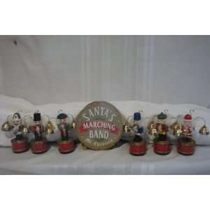 Mr. Christmas Santas Marching Band Nutcracker Brass Bell