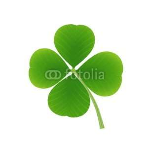 Wallmonkeys Peel and Stick Wall Decals   Four Leaf Clover   Removable