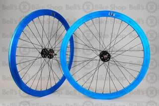 Velocity B43 Track Wheels BLUE Black Fixed Gear B 43 072774725526