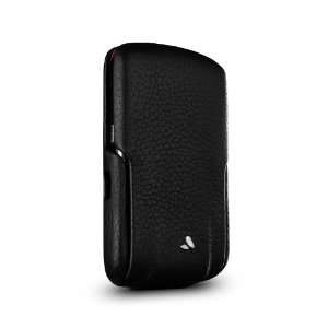 Vaja Black & Red Premium Leather Case for Blackberry Storm