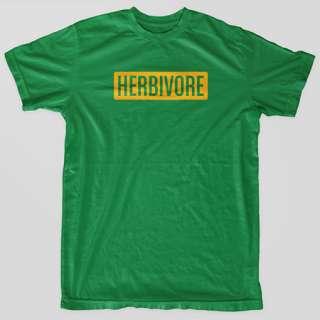 HERBIVORE Vegan PETA Vegetarian sXe Animal Rights EARTH CRISIS T Shirt