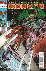 THE INVINCIBLE IRON MAN #30 SUPER HERO SQUAD VARIANT