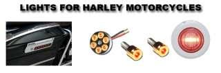 Custom Saddlebag latch Cover Accent Lights For Harley STREET GLIDE