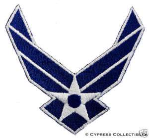 UNITED STATES AIR FORCE embroidered iron on PATCH USAF