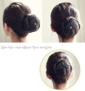Wedding Hair Piece Party Dance Dome Chignon Wiglet Bun Updo Hairpiece