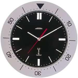 Atomix 50029R   Acrylic 11.5 Titanium Finish Atomic Clock