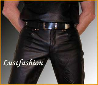 Ledergürtel Gürtel Leder schwarz leather belt Cuir