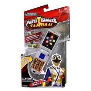 2011 Power Rangers Samurai Series Accessory Set   Gold Ranger Morpher