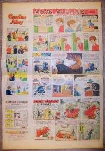 CHICAGO TRIBUNE NEWSPAPER SUNDAY COMICS 7/7 1974 Archie Nature Notes