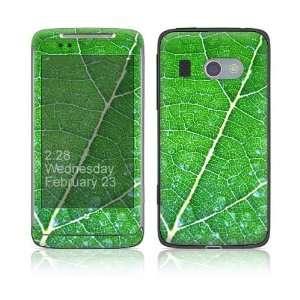 HTC Surround Skin Decal Sticker   Green Leaf Texture