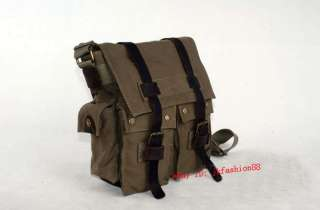 bag leisure bag Messenger bag khaki army special forces green white 5