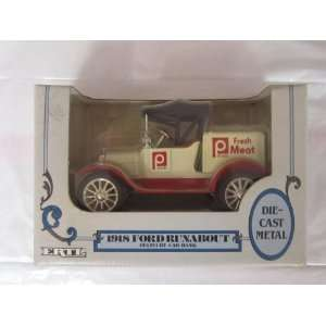 1918 Ford Runabout Publix Fresh Meat Delivery Truck Bank Toys & Games