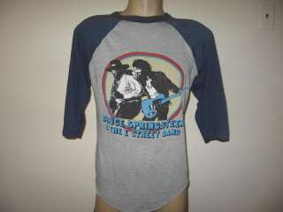 BRUCE SPRINGSTEEN E STREET BAND T Shirt MEDIUM concert rock 80s
