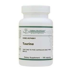 Taurine Capsules 600 mg 100 capsules: Health & Personal