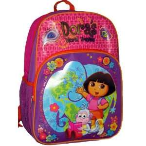 The Explorer World Travels Boots Large Backpack Bag Tote Toys & Games