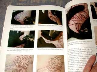How to Techniques TATTOO Flash Ink Gun Kit Machine Needles BOOK