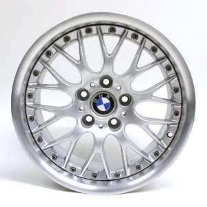 17 Inch BMW 530i 2001 2003 Bbs Silver Oem Wheel #59353 Automotive