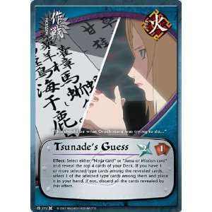 Naruto The Chosen M 272 Tsunades Guess Common Card: Toys & Games