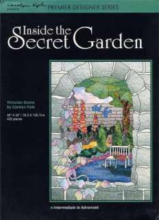 Inside the Secret Garden Stained Glass Pattern Book
