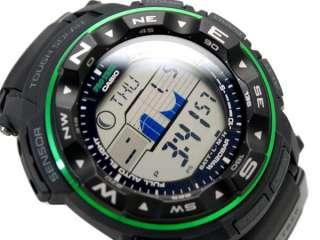NEW 2012 CASIO PROTREK TUFF SOLAR TRIPLE SENSOR PATHFINDER PRG 250 1B