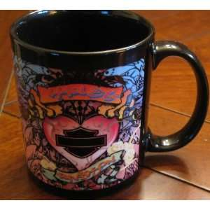 New Harley Davidson Graffiti Hers Coffee Mug Cup 11oz