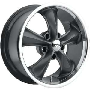 Foose Legend 17x7 Gray Wheel / Rim 5x4.75 with a 1mm Offset and a 72