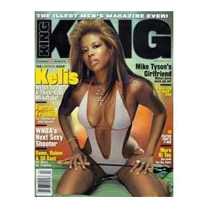 /April 2004 Issue (Kelis Cover) (Single Issue): King Magazine: Books