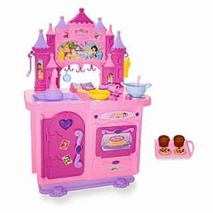 Disney Princess Deluxe Talking Kitchen Toys & Games