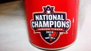 Auburn BCS National Championship Coca Cola Coke Can