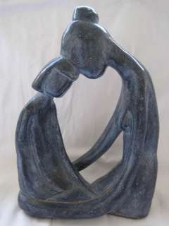 AUSTIN PRODUCTIONS 1971 SCULPTURE   MOTHER AND CHILD STATUE