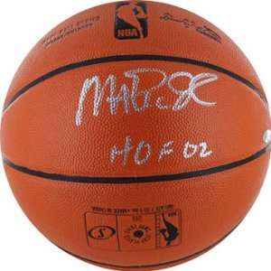 Magic Johnson Autographed HOF I/O Basketball Sports Collectibles