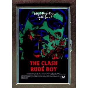 THE CLASH RUDE BOY 1980 POSTER ID Holder, Cigarette Case