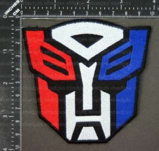 D732 Transformers Movie Autobot Deceptacon Iron Patch