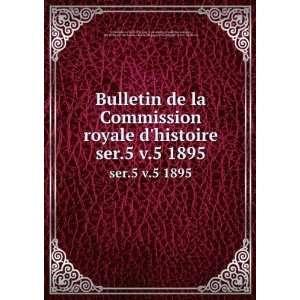 Commission royale dhistoire Commission royale dhistoire Books